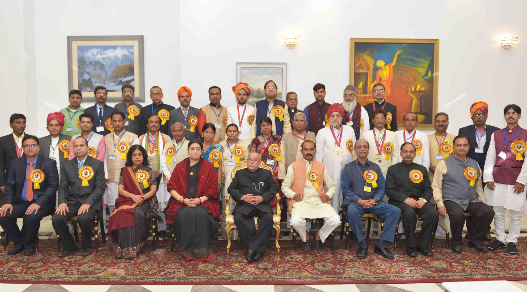 Hon Ble President Of India Shri Pranab Mukherjee Conferred The