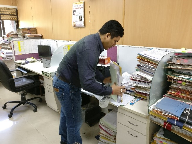 image of Swachhta hi Seva (SHS) Campaign in office of the Development Commissioner(Handicrafts)